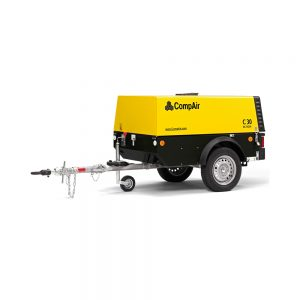 Field Air Compressors - Product Images - Compair - Portable Compressor - C-Series - C20 - C30